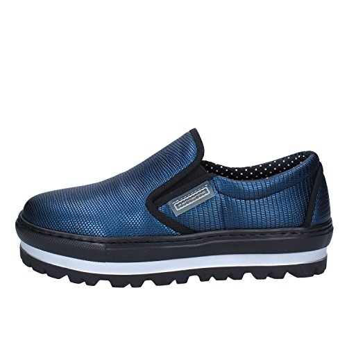 728337893ace28 Fornarina Loafers-Shoes Womens Leather Blue 8 US