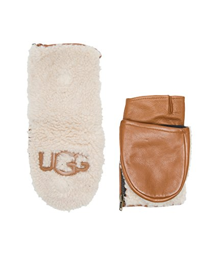UGG Women's Curly Pile Flip Mitten Chestnut MD by UGG