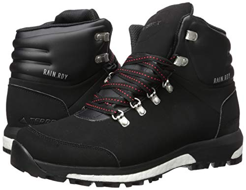 adidas Terrex Pathmaker CP Hiking Boot, Black/Scarlet/Black, 6 D US 7
