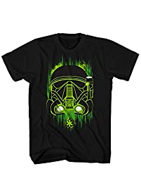 Star Wars Big Boys' Green Shadow Sg-1, Black, X-LARGE