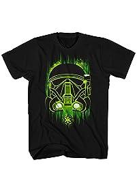 Star Wars Big Boys' Green Shadow Sg-1, Black, SMALL