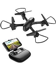 Potensic Drone con Cámara HD, Avión WiFi FPV, Cuadricóptero con Altitud Hold, Sensor de Gravedad, Modo sin Cabeza, Una Tecla de Despeque y Aterrizaje