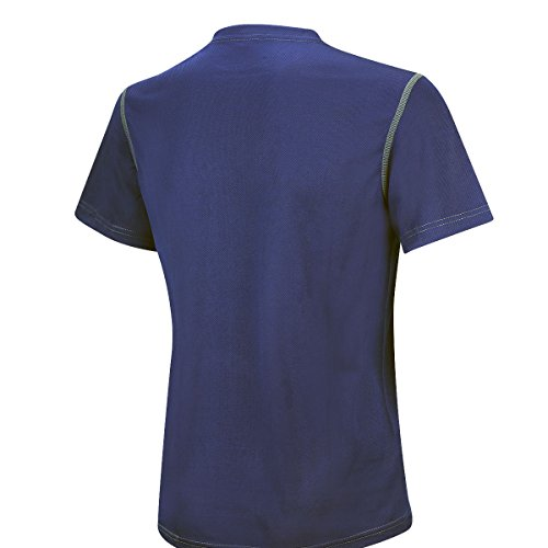 manica Airtracks corta functional Pro Running running Blue Active T shirt Funktions Air atumungs YYHwqUF
