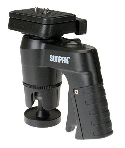 Sunpak 620-CPG Compact Pistol Grip Head for Tripod