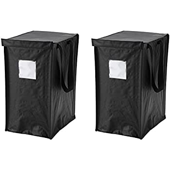 Amazon Com Ikea Dimpa Recycling Bag 2 Pack For Paper