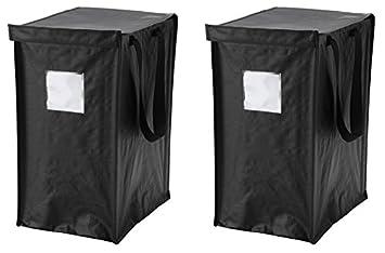 IKEA DIMPA Recycling Tasche [2 Pack] Für Papier, Kunststoff, Metall Oder  Glas