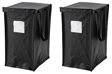 IKEA DIMPA reciclaje bolsa [2 unidades] para papel, plástico, metal o cristal
