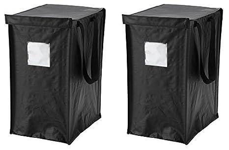 Ikea Borse Ufficio : Ikea dimpa riciclaggio bag [2 pezzi] per carta plastica metallo e