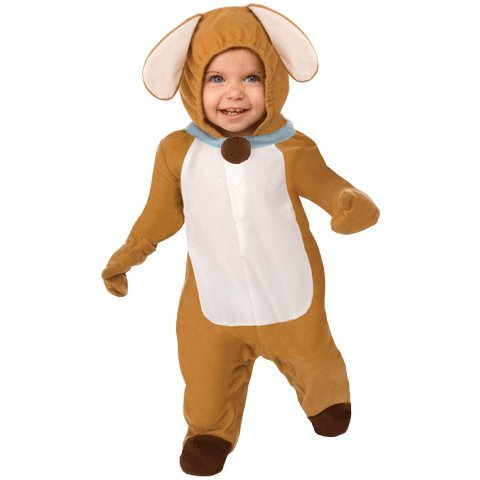 This Guy Costumes Baby's Puppy Love, Brown/White, 12-18 Months