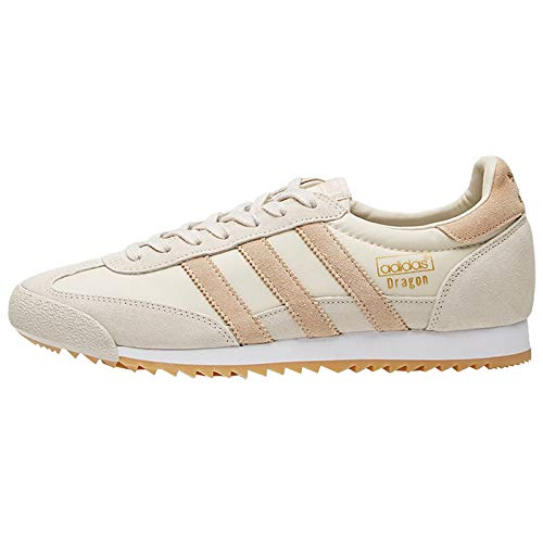 0158cfcec2f Galleon - Adidas Originals Men s Dragon Og Trainers US10 Cream