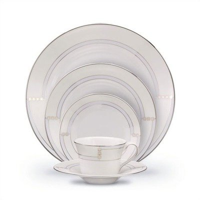 Wedgwood Opal 5 Piece Place Set (Plate Salad Garden 8')