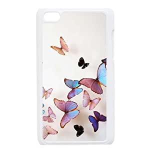 Make Your Own Photos Cover Case for Ipod Touch 4 Phone Case - Beautiful Butterfly HX-MI-058050
