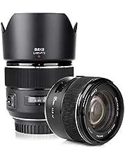 Meike 85mm f1.8 Large Aperture Full Frame Auto Focus Telephoto Lens for Canon EOS EF Mount Digital SLR Camera Compatible with APS C Bodies Such as 1D 5D3 5D4 6D 7D 70D 550D 80D photo