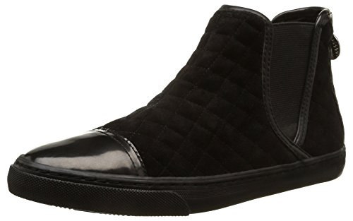 Geox Womens D New Club I Fashion Sneaker Black sHGFV9HBZt