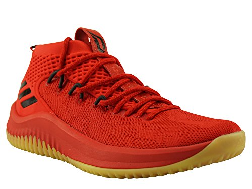 de adidas Cblack Scarle Chaussures Scarle Hirere Basketball Dame Cblack Hirere Homme 4 Rouge fr1Fxr