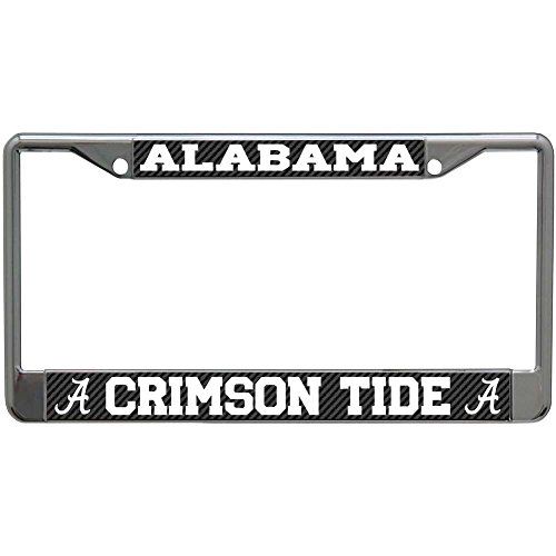 WinCraft Alabama, University of S68907 LIC PLT Frame S/L Printed