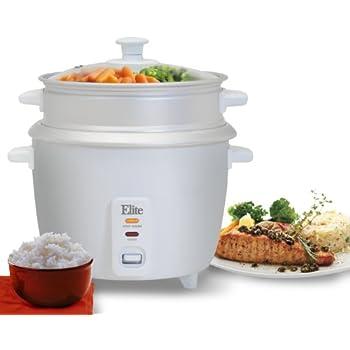 Amazon.com: Elite Gourmet ERC-003ST Electric Rice Cooker