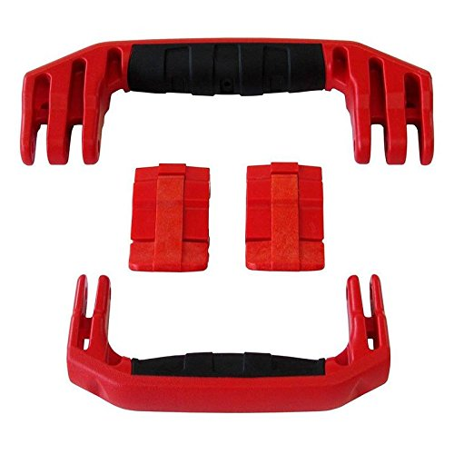 2 Red Replacement Handles / 2 Red Latches for Pelican 1510 or 1560 Customize your Pelican Case.