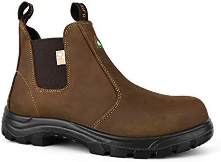 Tiger Men's Safety Boots Steel Toe
