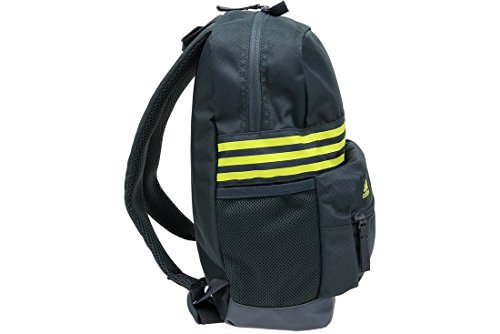 Charcoal adidas Backpack Sports Stripes 3 in Small rrAUYq