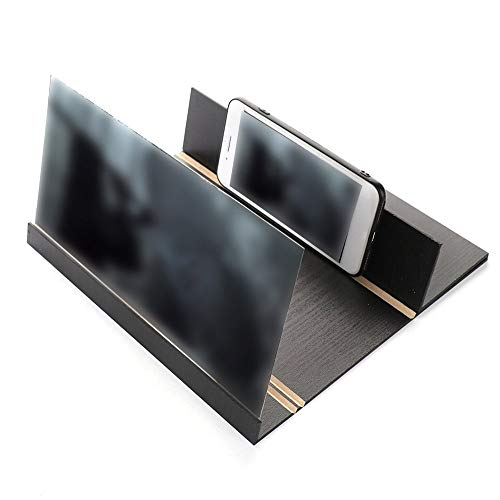 Emily Stereoscopic Amplifying Tablet Phone Video Screen Magnifier Amplifier Holder Black