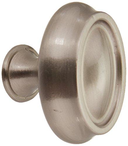 Amerock BP26127-G10 Manor Knob 1-by-1/2-Inch, Satin Nickel