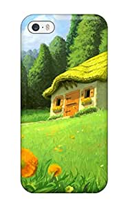 Cheap 3326267K61420775 High-quality Durable Protection Case For Iphone 5/5s(scenery)