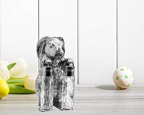 Arthur Court Designs Aluminum Bunny Stand for Glass -