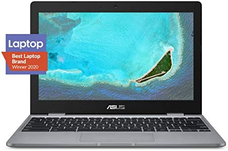 "ASUS Chromebook C223 Laptop- 11.6"" HD 1366x768 Anti-Glare Display, Intel Dual-Core Celeron N3350 Processor (Up to two.4GHz) 4GB RAM, 32GB eMMC Storage, Chrome OS, C223NA-DH02 Grey"