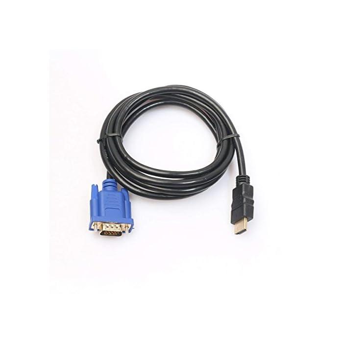 Haz clic aquí para comprobar si este producto es compatible con tu modelo Cable HDMI macho a VGA macho HD-15. Este cable de HDMI a VGA es compatible con los siguientes dispositivos: reproductores de DVD de alta definición, receptores de HDTV, televisores, proyectores, receptores A/V y otros dispositivos equipados con HDMI.