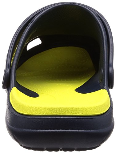 Crocs Sport Adulto Unisex Zoccolo Blu (blu / Verde Palla Da Tennis)