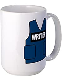 "<span class=""a-offscreen"">[Sponsored]</span>Castle Writer Vest - Coffee Mug, Large 15 oz. White Coffee Cup"