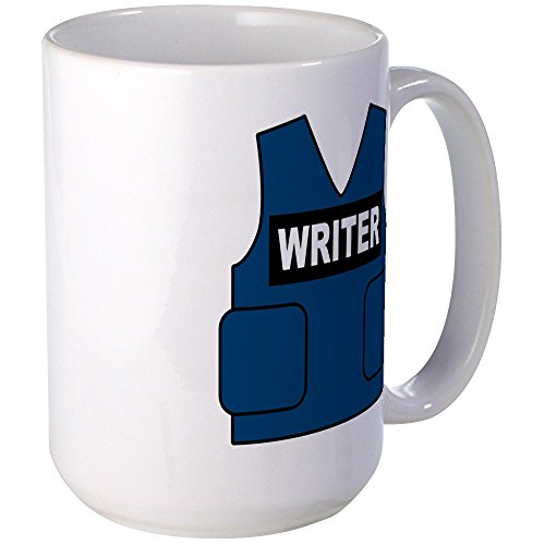 CafePress Castle Writer Coffee Large