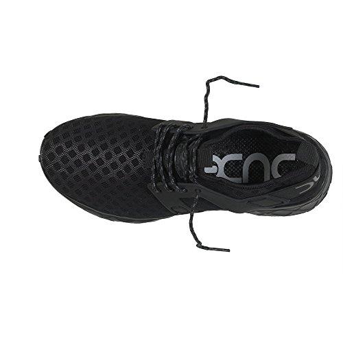 Dude Shoes Entrenador de Aire Negro Total Mujeres Mistral Damas Negro