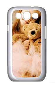 Samsung Galaxy S3 I9300 Cases & Covers - Cute Childhood PC Custom Soft Case Cover Protector for Samsung Galaxy S3 I9300 - White