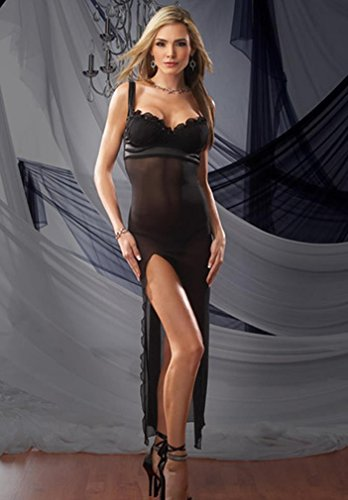 Gown W G-String Mesh Large