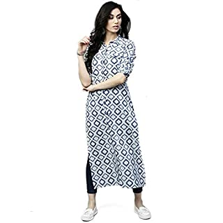 41qND3 0gLL. SS320 AnjuShree Choice Women's Cotton Straight Kurta