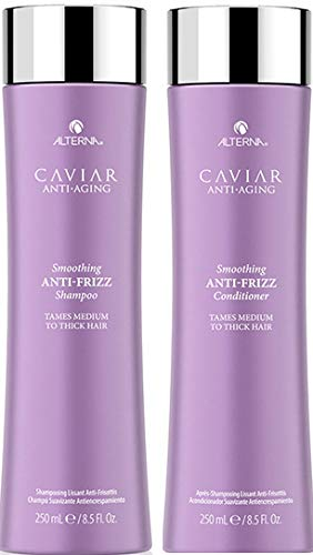 CAVIAR Anti-Aging Anti-Frizz Shampoo and Conditioner Set, 8.5-Ounce