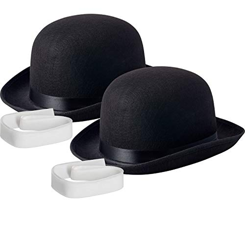 NJ Novelty - Black Derby Hat, 5