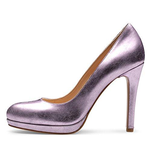 Evita Shoes - Zapatos de vestir de Piel para mujer Morado - lila