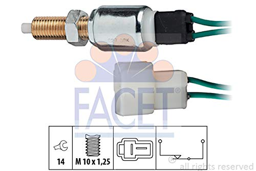 Facet - 7.1027 - Brake/Clutch Pedal Switches