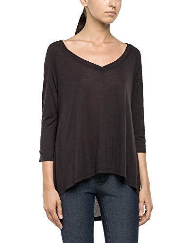 REPLAY W3726 .000.21012 - Camiseta de manga larga Mujer Schwarz (BLACKBOARD. 913)