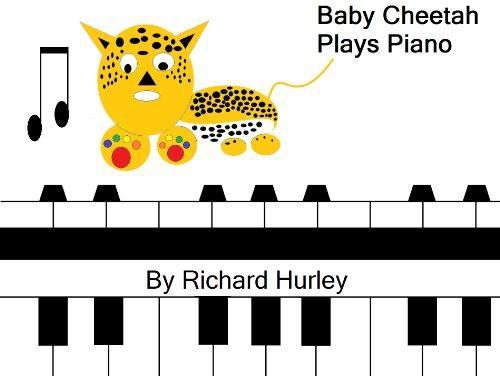 Baby Cheetah Plays Piano