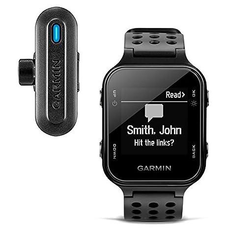 Garmin enfoque S20 GPS Golf Reloj Negro & TruSwing Bundle ...