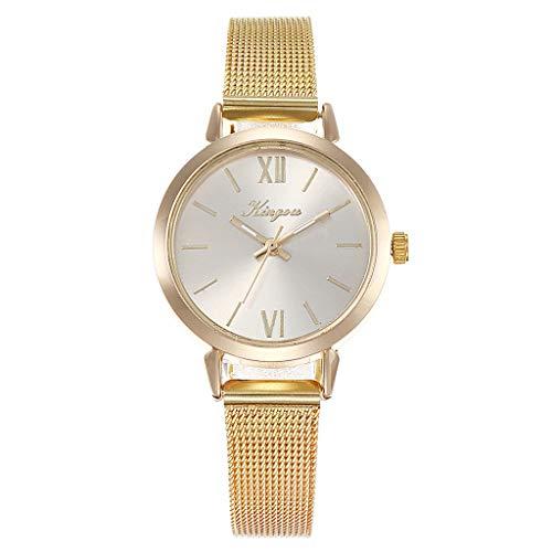 Women Stainless Steel Band Watches,Ladies Quartz Wristwatches,Mitiy Unique Design Mesh Bracelet Watch