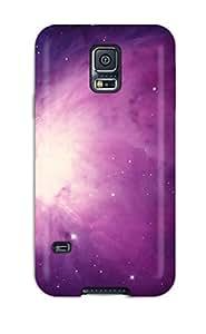 ZippyDoritEduard Premium Protective Hard Case For Galaxy S5- Nice Design - Purple Space Background