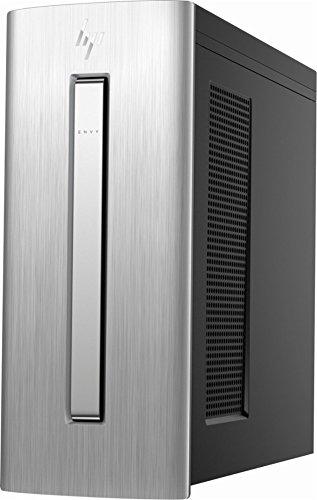 2018 Newest Flagship HP Envy 750 High Performance Business Desktop - Intel Quad-Core i5-7400 3.0GHz 12GB DDR4 128GB SSD+1TB HDD DVD-RW 7-in-1 Media Card Reader Bluetooth WLAN USB Type-C HDMI Win 10