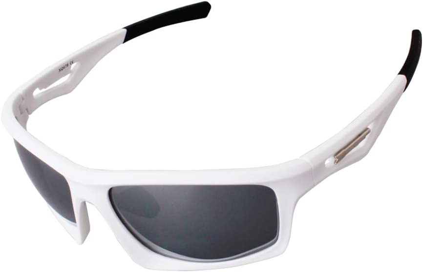 Downshift Sport Sunglasses with Case - No-Slip for Cycling, Biking, Running
