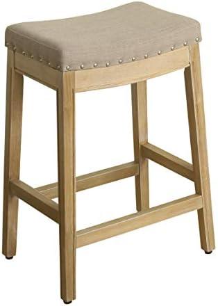 HomePop Blake Backless Counter Barstools