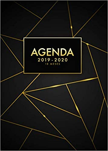 Agenda 2019 2020 18 meses: Agenda 18 meses 2019-2020 semana ...